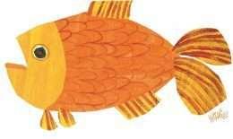 Tranh cá vàng đang bơi