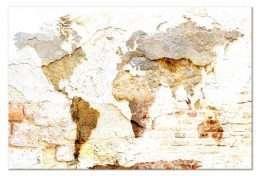 Tranh in nghệ thuật bản đồ thế giới