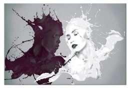 Tranh in nghệ thuật trắng đen