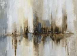 Tranh in nghệ thuật đèn harbor