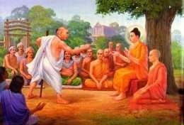 Tranh Phật dạy về tranh cãi