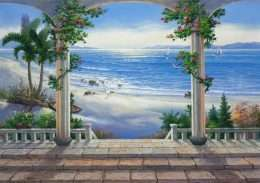 Tranh phong cảnh biển cả