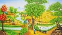 Tranh Phong Cảnh Mùa Vụ