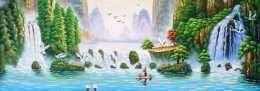 Tranh Phong Cảnh Thiên Nhiên Đẹp