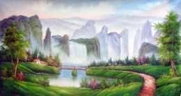 Tranh phong cảnh vẻ đẹp thiên nhiên