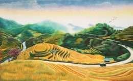 Tranh Ruộng Bậc Thang Treo Tường