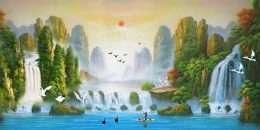 Tranh sơn dầu phong cảnh tuyệt sắc