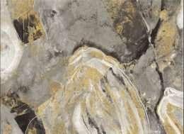 Tranh nghệ thuật trừu tượng vàng gold