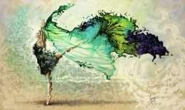 Tranh vũ công ba lê