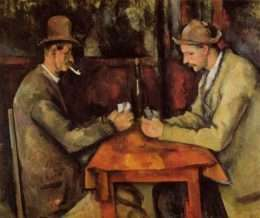 Buc hoa_The card players_duoc ve boi danh hoa_Paul Cézanne 4-23007