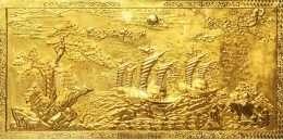 Tranh dát vàng thuận buồm xuôi gió 4-10007