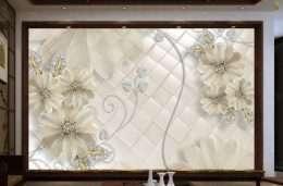 Tranh dan tuong hoa la hoa cuc trang 5-16003