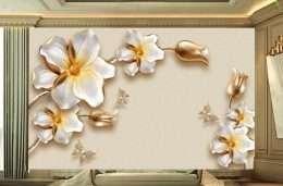 Tranh dan tuong hoa la hoa mai sang trong 5-16008