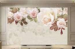 Tranh dan tuong hoa la hoa xuan khoe sac 5-16021