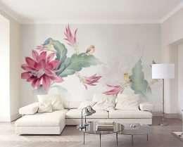 Tranh dan tuong kieu tranh ve hoa la nghe thuat 5-14010