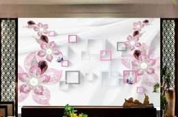 Tranh in 3D Hoa hien dai 5-1003
