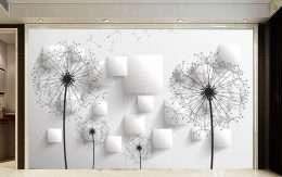 Tranh in 3D hoa trang va khoi hinh vuong 5-1012