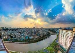 Tranh paronama Mot goc Sai Gon 5-6006