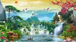 Tranh phong thuy thien nhien 4-16029