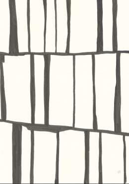 Tranh in canvas hình chữ nhật xếp chồng 4-1013