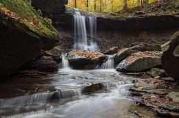 Tranh nghệ thuật thác nước trong rừng 4-5026