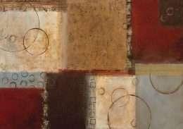 Tranh in nghệ thuật vuông tròn 4-9049