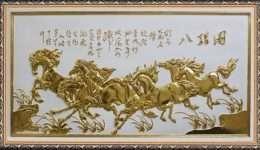 tranh dat vang ngua phi 2-4006