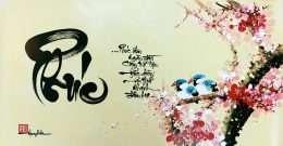 tranh thu phap chu Phuc 2-6020